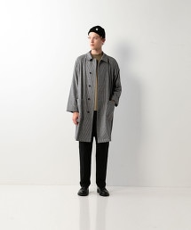 <Steven Alan>CHECK BAL COLLAR COAT/大衣