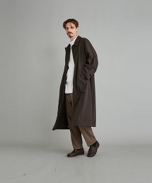 <Steven Alan> NYLON BAL COLLAR COAT-BOLD/大衣