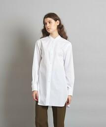 <Steven Alan>THOMAS MASON COTTON BAND COLLAR SHIRT/襯衫 日本製