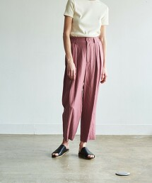 <Steven Alan>∴TUCK MAHARAJA PANTS/長褲