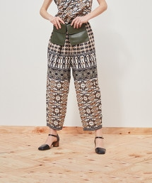 <Steven Alan>PRINT BALLOON PANTS/褲子