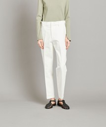 <Steven Alan>COTTON DENIM STRAIGHT TROUSERS WHITE/牛仔褲