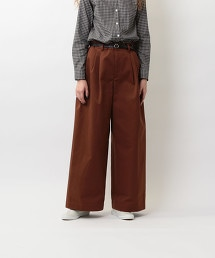 <Steven Alan>COTTON CHINO BAGGY PANTS/長褲