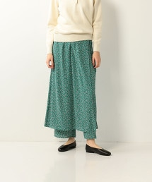 <Steven Alan>FLOWER PRINT WRAP PANTS/長褲