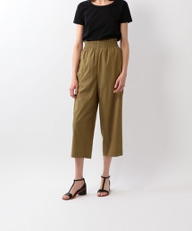 <Steven Alan>TC VOILED GATHERED CROPPED PANTS/長褲