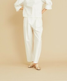 <Steven Alan>COTTON NEP YARN TUCK TROUSERS/褲子 日本製