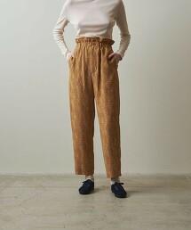 <Steven Alan>JACQUARD TAPERED PANTS/錐形褲 日本製