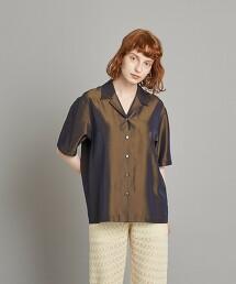 <Steven Alan>SHINY OPEN COLLAR SHIRT/襯衫