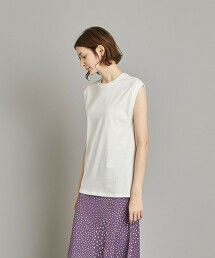 <Steven Alan>COTTON NO-SLEEVE PULLOVER/坦克背心 日本製