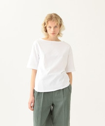 <Steven Alan>COTTON BOAT NECK PULLOVER/套頭上衣