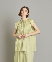 <Steven Alan>COTTON NO SLEEVE BLOUSE/套衫