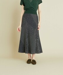 <Steven Alan>RANDOM DOT LONG SKIRT/長裙 日本製