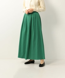 <Steven Alan>COTTON PIQUE MAXI SKIRT/裙子