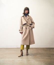 <Steven Alan>MELTON TRENCH COAT/大衣