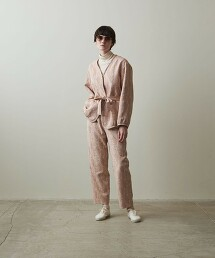 <Steven Alan>JACQUARD BLOUSON/夾克 日本製