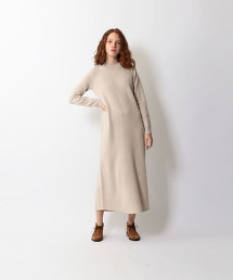 <Steven Alan>LAMBS WOOL FLAIR DRESS/洋裝
