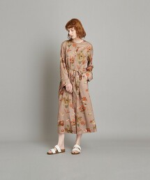 <Steven Alan>∴LIBERTY PRINT BIG FLOWER DRESS/洋裝