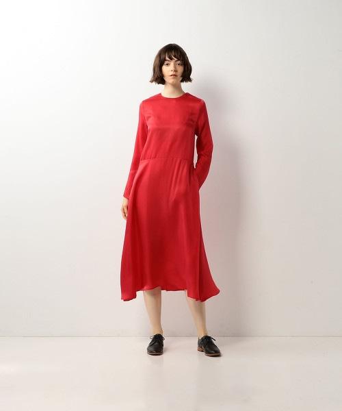 <Steven Alan>CUPRA FLAIR DRESS/連身洋裝