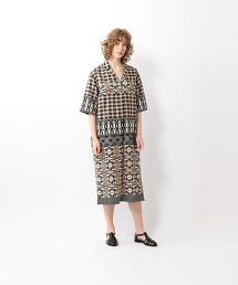 <Steven Alan>PRINT SKIPPER DRESS/洋裝