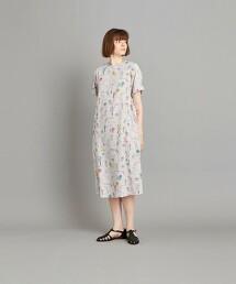 <Steven Alan>CIRCUS PRINT SHORT SLEEVE DRESS/洋裝