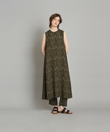 <Steven Alan>JACQUARD FLARE DRESS/洋裝 日本製