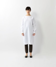 <Steven Alan>COTTON SWEAT LONG PULLOVER/洋裝