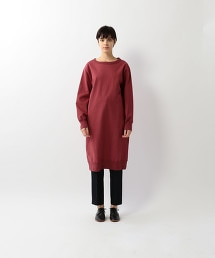<Steven Alan>COTTON SWEAT LONG PULLOVER/洋裝 OUTLET商品