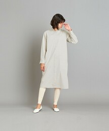 <Steven Alan>CHECK TROMPE LOEIL DRESS/洋裝 日本製