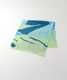 <Steven Alan>COUNTRY SILK PRINT SCARF/方巾 日本製造