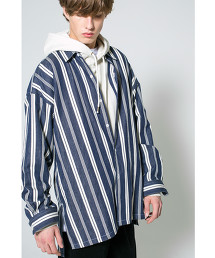<monkey time> RANDOM STRIPE LONG SHIRT/襯衫