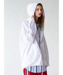 <monkey time> OX ST OVERSIZED HOOD SHIRT