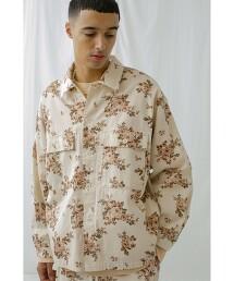 <monkey time> KATURAGI FLOWER PRINT CPO/襯衫
