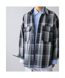 <monkey time> HEAVY CHECK TWILL OVER SIZED CPO/格紋襯衫