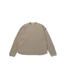 <monkey time> BIAS WAFFLE LYD LSL/發熱素材 T恤
