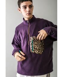 <monkey time> FLEECE HALF ZIP PULLOVER/半拉鍊 套頭上衣 OUTLET商品