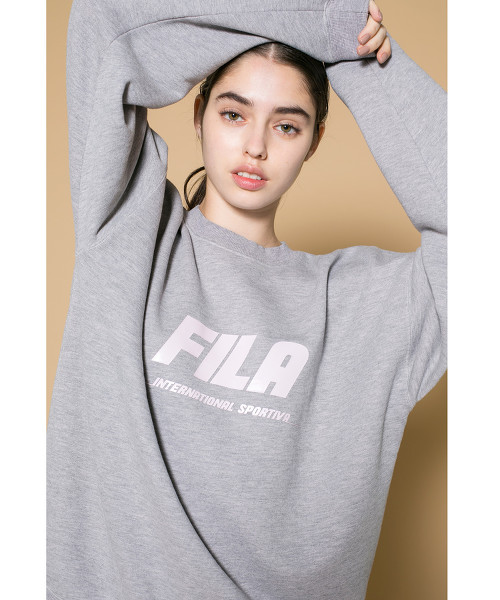 <FILA × monkey time> SWEAT CREWNECK/衛衣