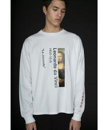 <monkey time> ART PRINT LSL TEE/T恤