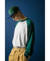 <DISCUS × monkey time> BASEBALL LONG SLEEVE TEE/T恤