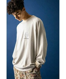 <DISCUS × monkey time> COLLEGE LG LONG SLEEVE T/T恤
