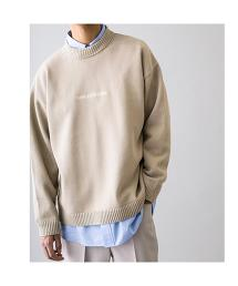 <monkey time> EMBRO COTTON TJK CREW NECK/針織衫