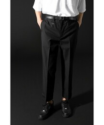 <monkey time> TW TWILL W ANKLE TROUSERS/正裝褲