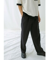 <monkey time> renu TRO WIDE 1P PANTS/寬褲