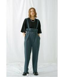 <monkey time> renu TRO HI-WAIST SPDR PANTS/高腰褲