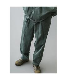 <monkey time> 7WALE SOFT CORD WIDE 1P PANTS/燈芯絨寬褲