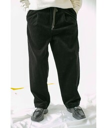 <monkey time> 8WALE SOFT CORDUROY 1P WIDE EASY/輕便褲