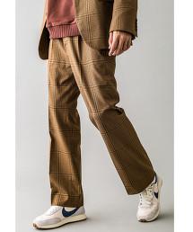 <monkey time> TR GUNCLUB CHECK BOOT CUT/長褲