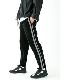 <monkey time> VELOUR TRACK PANTS/運動褲