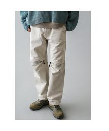 <monkey time> ARMY/CD KNEE ZIP PANTS/長褲