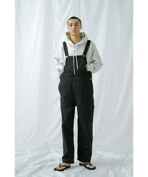<monkey time> FRCH/SRG OVERALL/連身褲