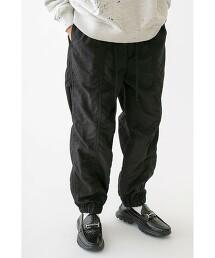 <monkey time> WSHR NYLON JOGGER PANTS/縮口褲